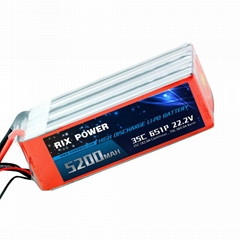 RIX POWER 5200MAH 35C 6S