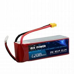 RIX POWER 4200MAH 35C 6S