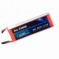 Rix Power 1800mah 35c 3s