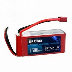 Rix Power 1500mah 35c 3s