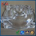CNC Machining Transparent PMMA prototype