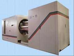 vacuum metallizer metallizing machine for window film solar control film LED