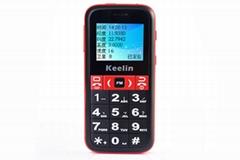 GPS phone big fonts/big