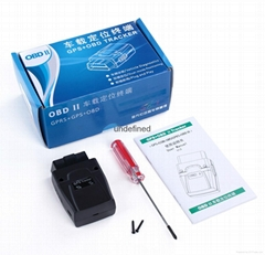 GSM GPS Vehicle tracker with OBD port  (GOT08)