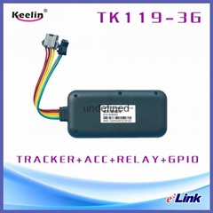 3G Vehicle GPS  tracking device with precise GPS accuracy