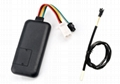 GPS tracker with Temperature Monitoring