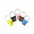 T-shirt shape lock 3 digital combination lock for bag safe 5