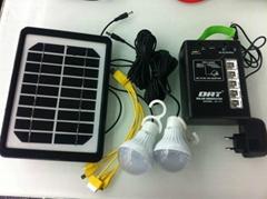 AT-111 mini solar lighting system with USB