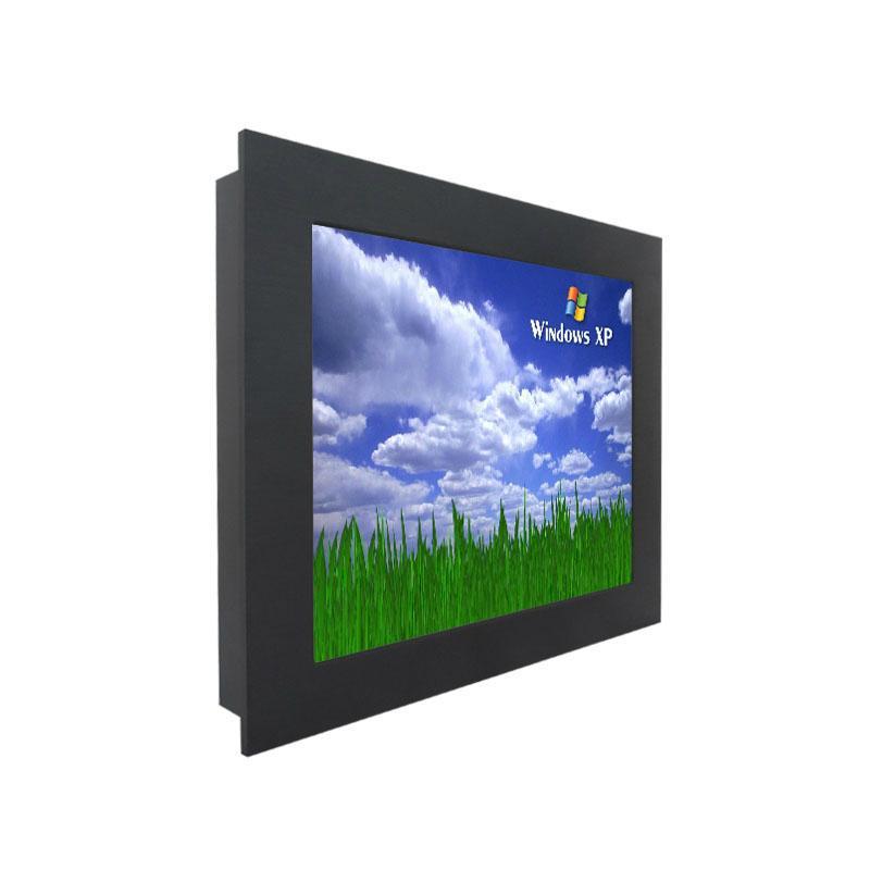 壁挂式19寸工业平板电脑一体机 1