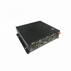 多串口双网口工控主机J1900M工控机