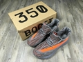 Adidas Yeezy Boost 350 V2 BY1604 Black White US 10.5 / UK 10