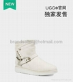 Ugg boots crystal buckle 1:1 quality wholesale autumn wedding style warm boots