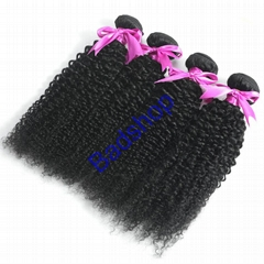 Human hair Virgin Hair Brazilian Peruvian Indian Malaysian Curly body loose Wave (Hot Product - 1*)