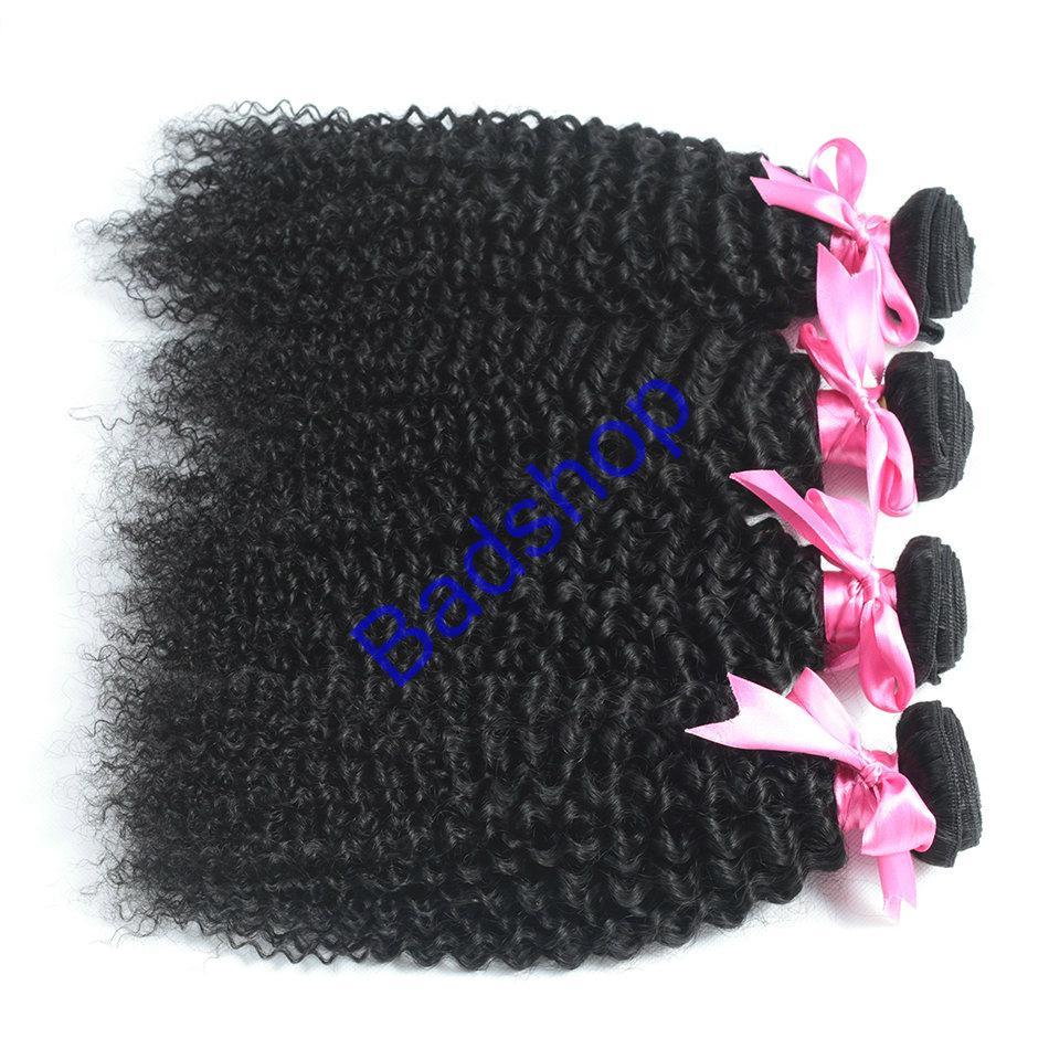 Human hair Virgin Hair Brazilian Peruvian Indian Malaysian Curly body loose Wave 2