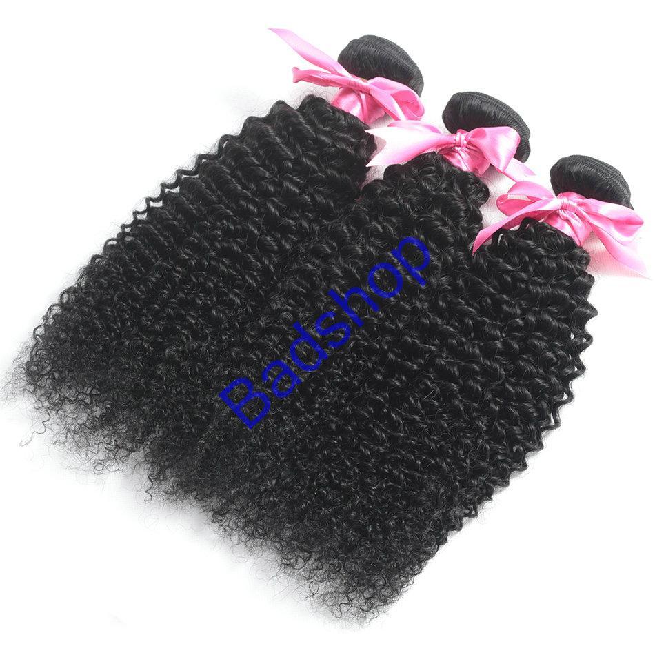 Human hair Virgin Hair Brazilian Peruvian Indian Malaysian Curly body loose Wave 5