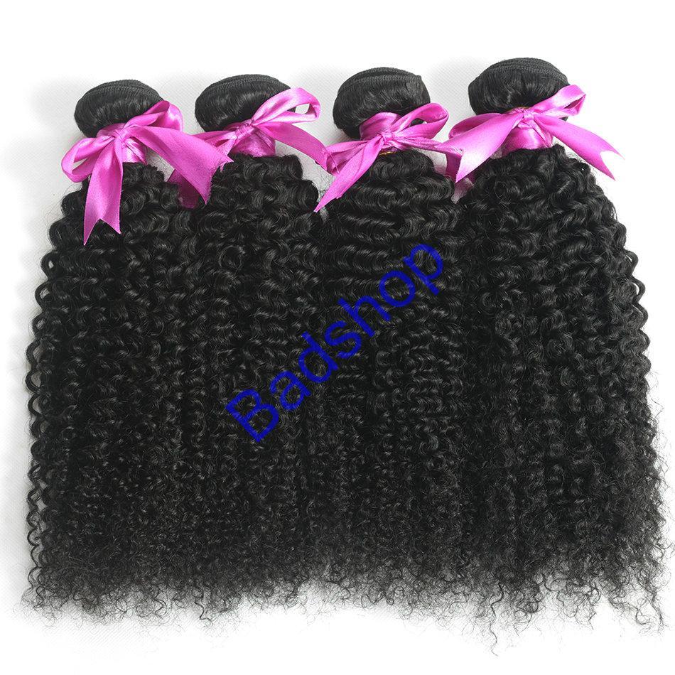 Human hair Virgin Hair Brazilian Peruvian Indian Malaysian Curly body loose Wave 7