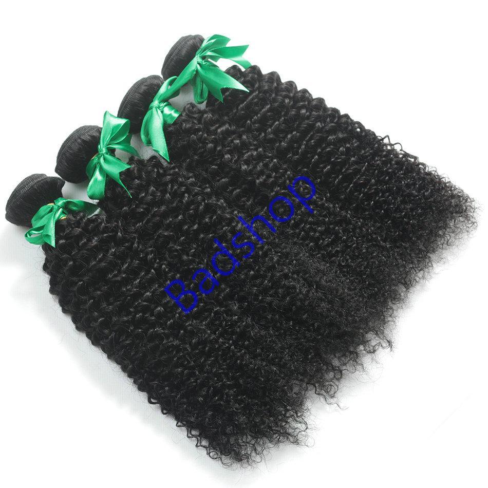 Human hair Virgin Hair Brazilian Peruvian Indian Malaysian Curly body loose Wave 10