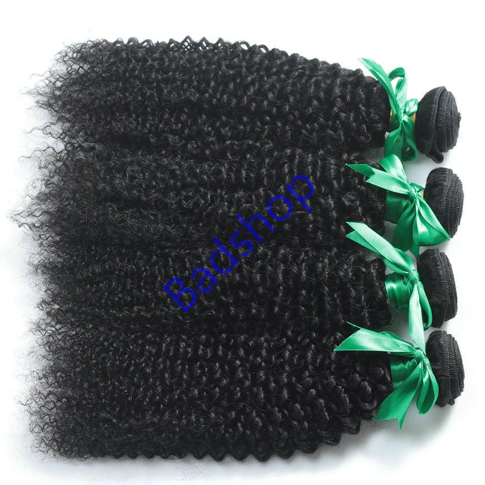 Human hair Virgin Hair Brazilian Peruvian Indian Malaysian Curly body loose Wave 12