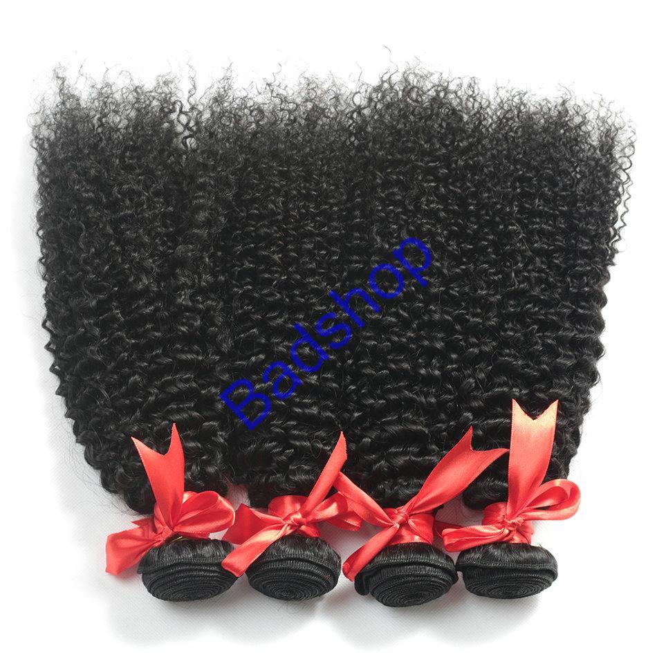 Human hair Virgin Hair Brazilian Peruvian Indian Malaysian Curly body loose Wave 15