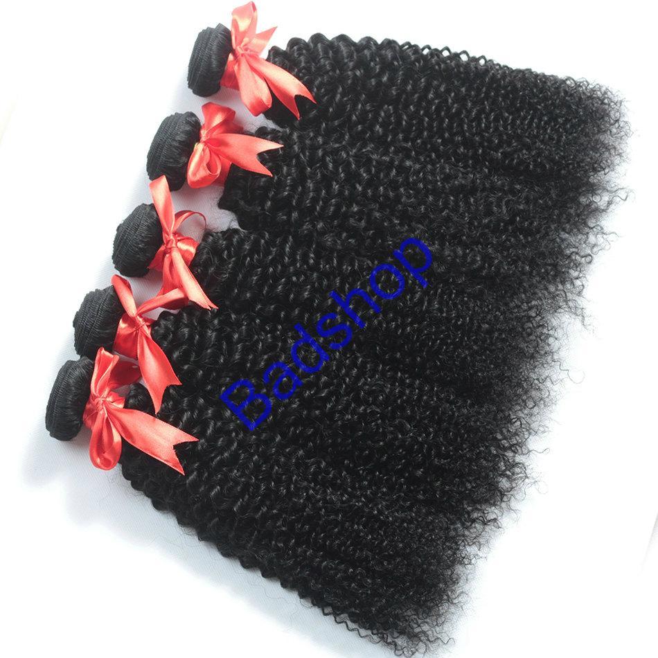 Human hair Virgin Hair Brazilian Peruvian Indian Malaysian Curly body loose Wave 16