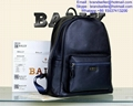 Leather Bally backpack AAA Quality Bally Men Messager Bags shoulder bag 7
