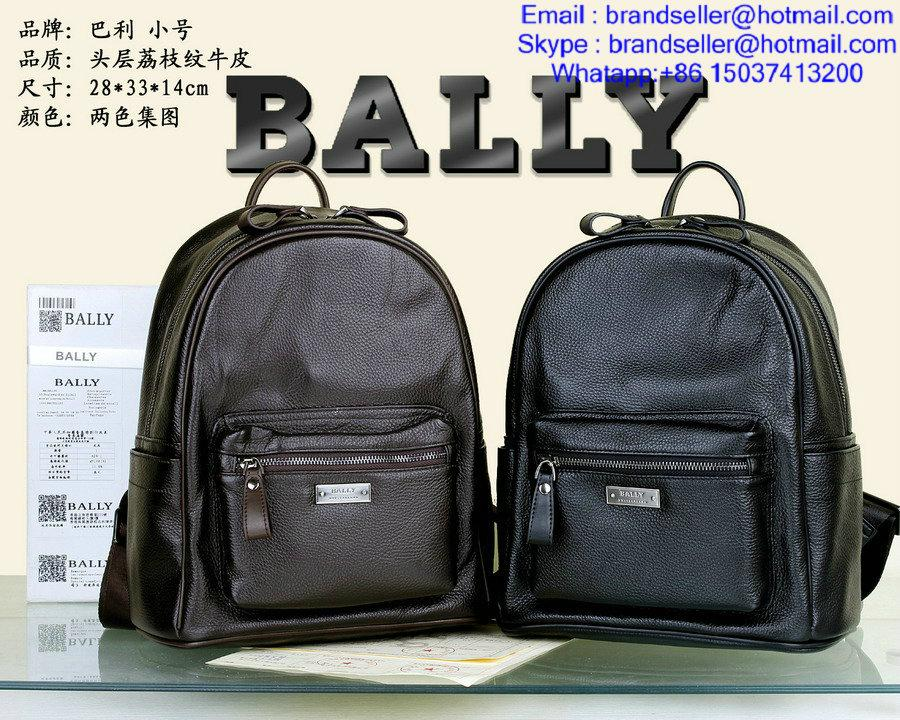 Leather Bally backpack AAA Quality Bally Men Messager Bags shoulder bag 1