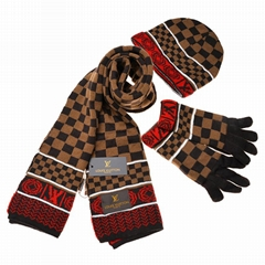 Wholesale LV hat scarf gloves Gucci scarf Chanel scarf Louis vuitton scarf