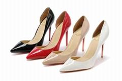 Christian Louboutin wholesale 2018 Women shoes fashion high heel CL shoes AAA