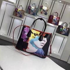 1:1 quality fashion prada handbag prada