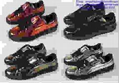 Puma x Rihanna Suede Creeper Puma Basket Platform Metallic 16AW lovers shoes