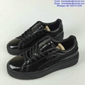 Puma x Rihanna Suede Creeper Puma Basket Platform Metallic 16AW lovers shoes 8