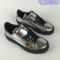 Puma x Rihanna Suede Creeper Puma Basket Platform Metallic 16AW lovers shoes 3