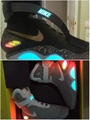 1:1 Nike Mag Fly Shoes Future II Marty McFly Nike Shoes Men light shoes 41-47