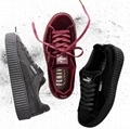 wholesale New puma shoes 1:1 quality PUMA X RIHANNA SUEDE CREEPER woman shoes