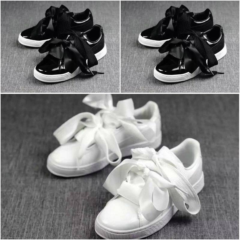 meilleur service 3d3fa ff850 hotest Puma Suede Basket Heart shoes puma shoes women shoes ...