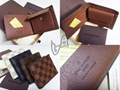 Louis Vuitton Wallet Coin Purse Damier Graphite LV wallet GUCCI purse bags