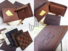 Louis Vuitton Wallet Coin Purse Damier Graphite LV wallet GUCCI purse bags
