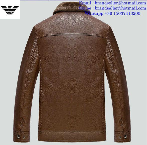Armani clothes cotton-padded leather Jacket AAA down coat 3