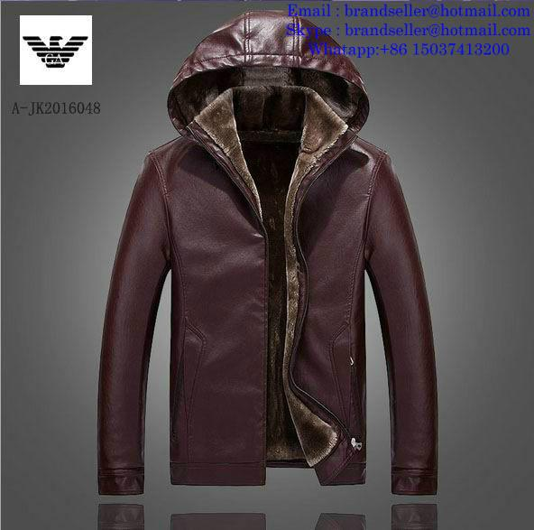 Armani clothes cotton-padded leather Jacket AAA down coat 2