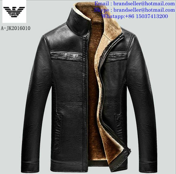 Armani clothes cotton-padded leather Jacket AAA down coat 9