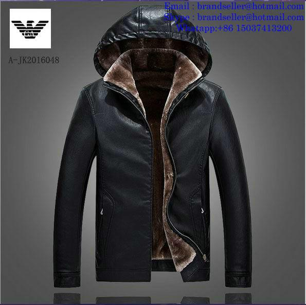 Armani clothes cotton-padded leather Jacket AAA down coat 13