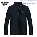 Armani clothes cotton-padded leather Jacket AAA down coat 15