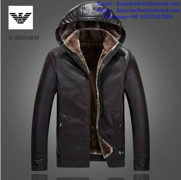 Armani clothes cotton-padded leather Jacket AAA down coat 16
