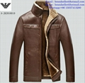 Armani clothes cotton-padded leather Jacket AAA down coat 17