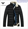 Armani men jacket Armani fashion men clothes down coat 2