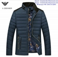 Armani men jacket Armani fashion men clothes down coat 5