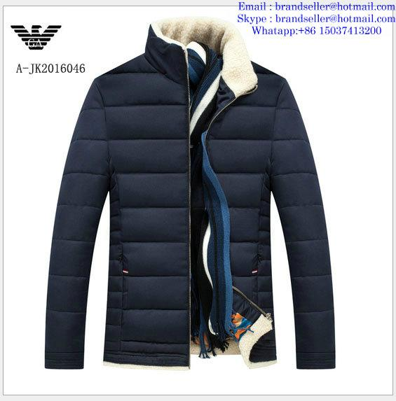 Armani men jacket Armani fashion men clothes down coat 8