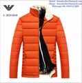 Armani men jacket Armani fashion men clothes down coat 10