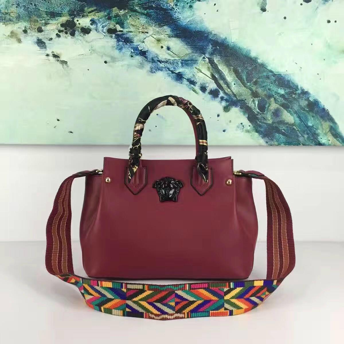 e58144fb35 Versace Bags Leather Handbags lady bag for Women on Sale (China ...