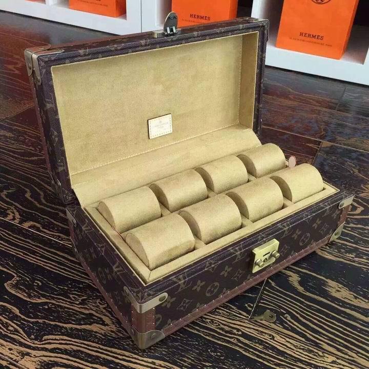 Louis Vuitton Monogram Jewelry Watch Box lv box Novelty LV boxes